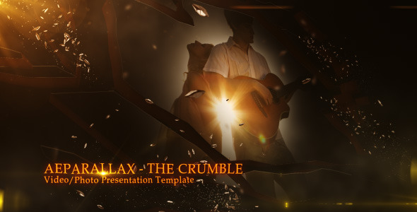 VideoHive The Crumble Video Photo Presentation 2596506