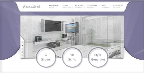 ThemeForest CleanLook Premium Multipurpose WordPress 2517000