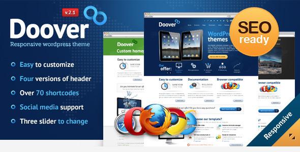 ThemeForest Doover Premium WordPress Theme 2279114