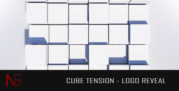 After Effects Project - VideoHive Cube Tension Logo Reveal 2597546