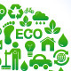 Eco world / clean planet icons set - GraphicRiver Item for Sale