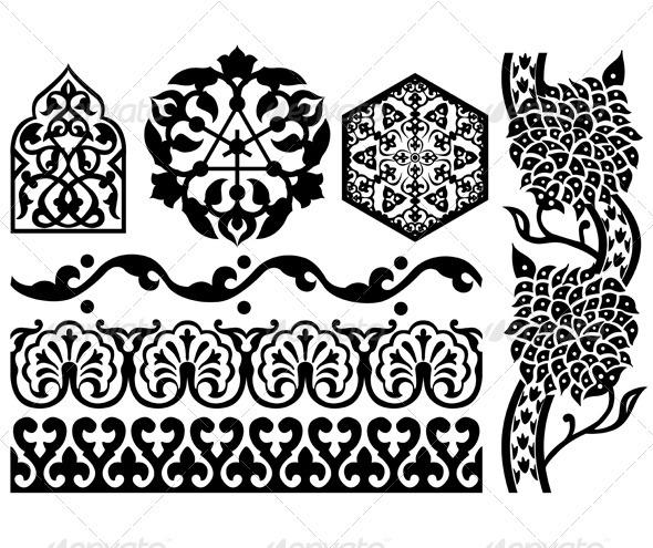 Islamic Black & White Design