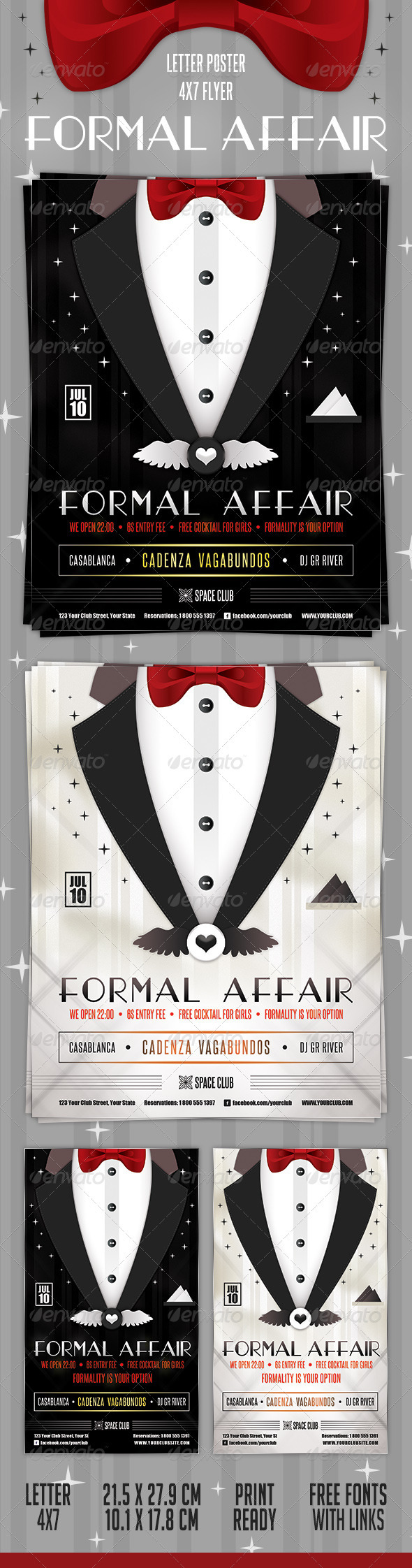 GraphicRiver Formal Affair Poster and Flyer 2598528