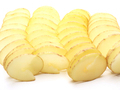 Raw potatoes cut in a spiral - PhotoDune Item for Sale