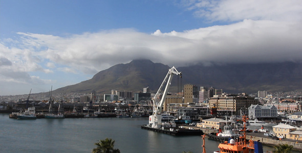 Timelapse Clouds Table Mountain