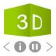 3D cube banner rotator - ActiveDen Item for Sale