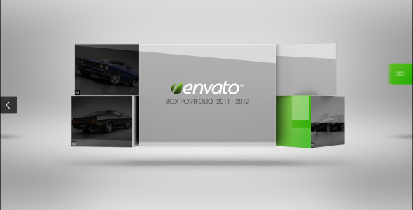 After Effects Project - VideoHive Box Portfolio 2600113