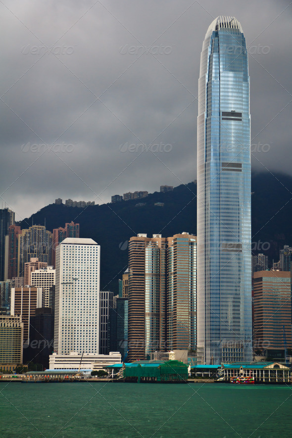 Hong Kong City View - Stock Photo - Images