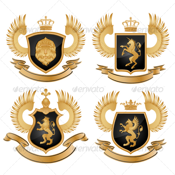 GraphicRiver Coat of arms Vector illustration 94431