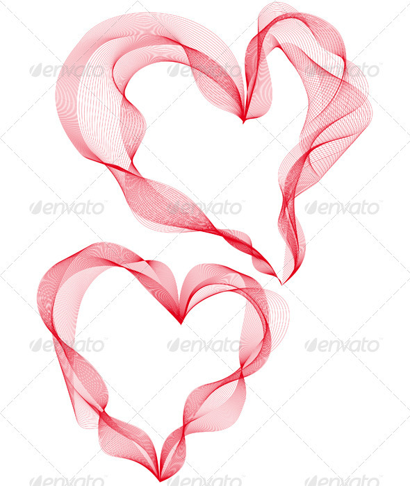 GraphicRiver Abstract Heart Designs Vector 2601019