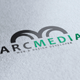 Arc Media Logo - GraphicRiver Item for Sale