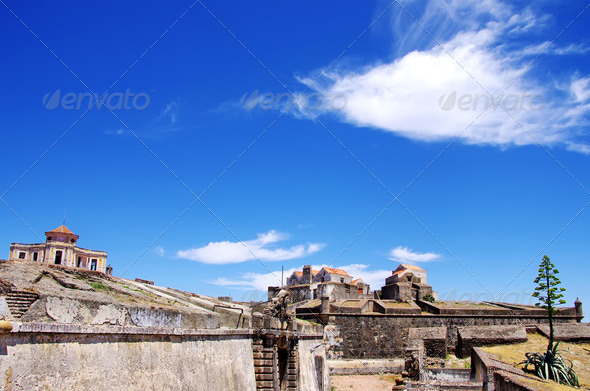 Fort of Graça, Elvas, Portugal - Stock Photo - Images