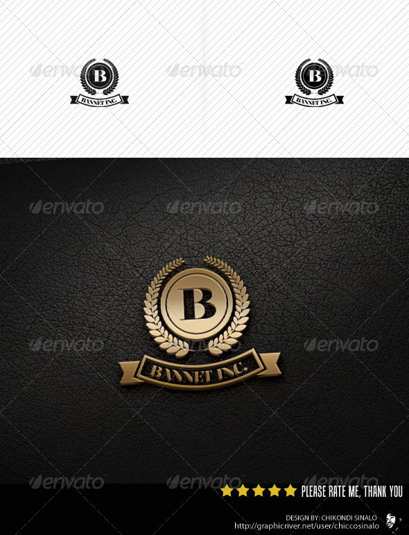 Bannet Logo Template - Abstract Logo Templates