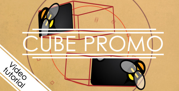 After Effects Project - VideoHive Cube promo 2601553