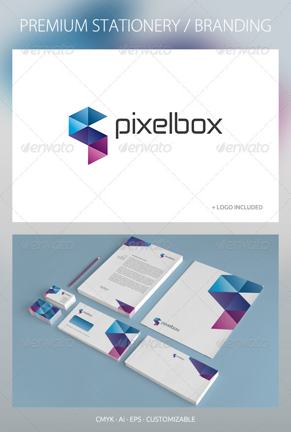 GraphicRiver Pixelbox Corporate Identity 2601647