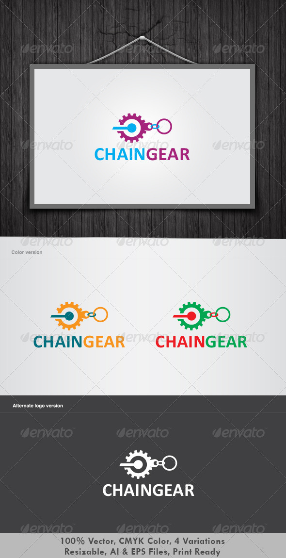 Chain Gear Logo
