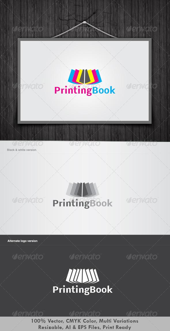 Printing Book Logo