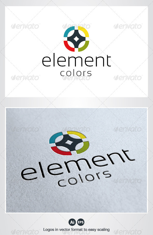 Element Logo - Symbols Logo Templates