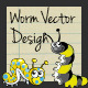 Worm Vector Design - GraphicRiver Item for Sale