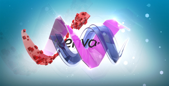 After Effects Project - VideoHive Wave Logo 2602633