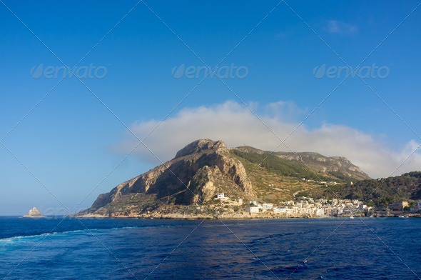 Marettimo Island - Stock Photo - Images