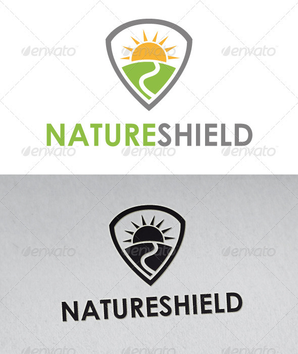 Nature Shield Logo - Nature Logo Templates