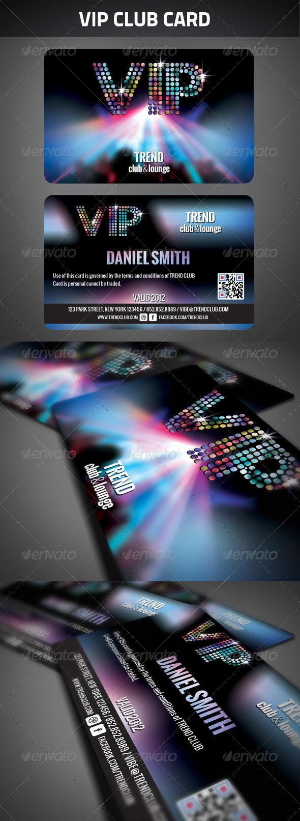 GraphicRiver VIP Club Membership Card 2604245
