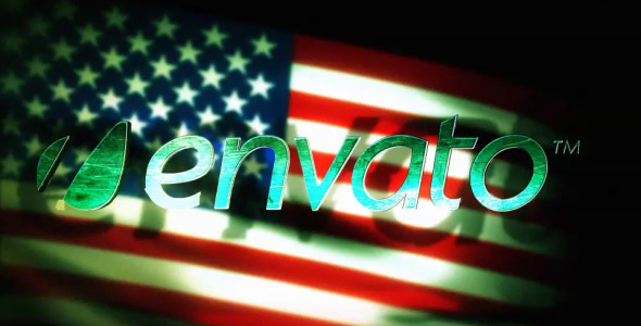 After Effects Project - VideoHive Patriot Flag End Text 2592065