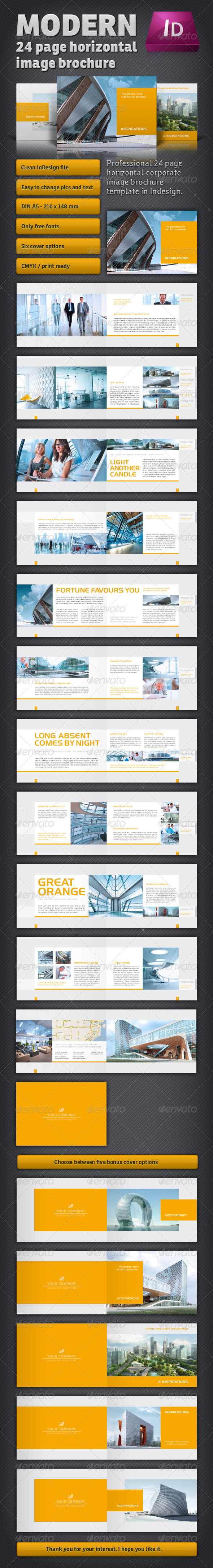 GraphicRiver Modern Image Brochure 2605851