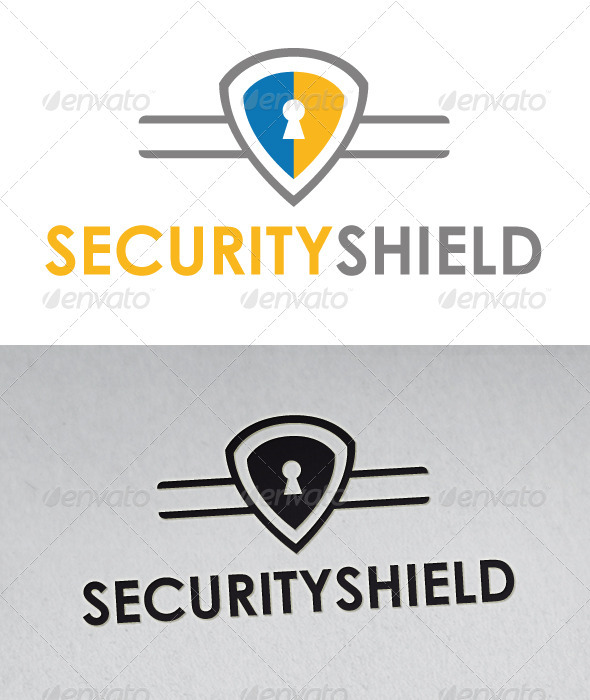 Security Shield Logo - Objects Logo Templates