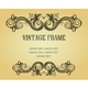 Vintage frame in victorian style - GraphicRiver Item for Sale