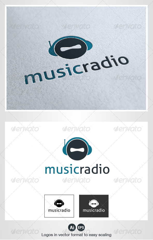 Music Radio Logo