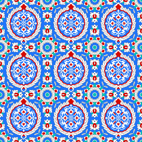 Pattern in traditional Islamic design