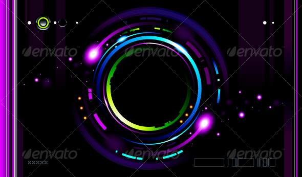 GraphicRiver Cool futuristic background 94621