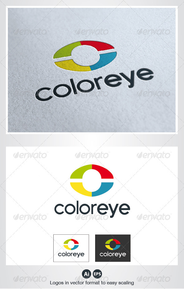 Color Eye Logo - Symbols Logo Templates