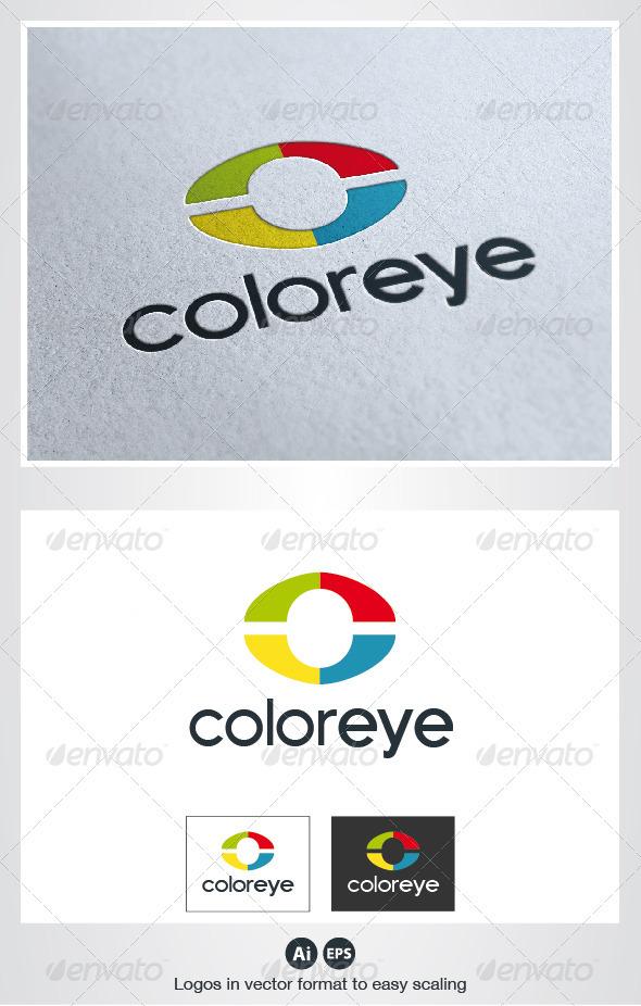 Color Eye Logo - Symbols Logo Templates