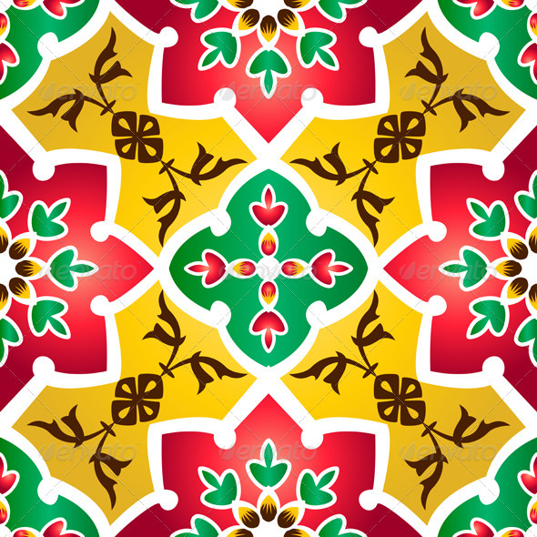 Traditional Islamic Pattern - Patterns Decorative