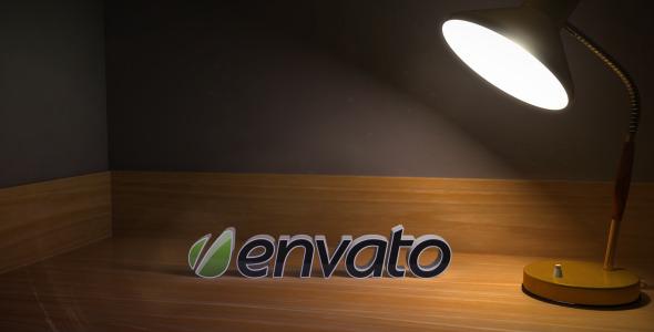 VideoHive Lamp Logo Reveal 2608561
