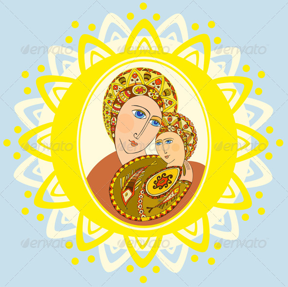 GraphicRiver Mother of God 2608860