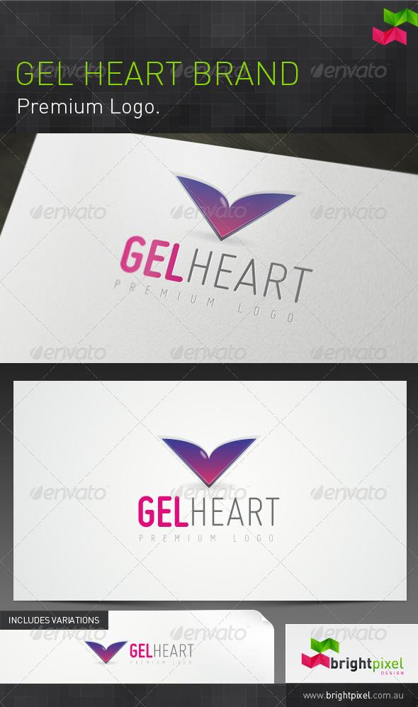Gel Heart Brand - Symbols Logo Templates
