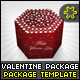 Valentine Package Template - GraphicRiver Item for Sale