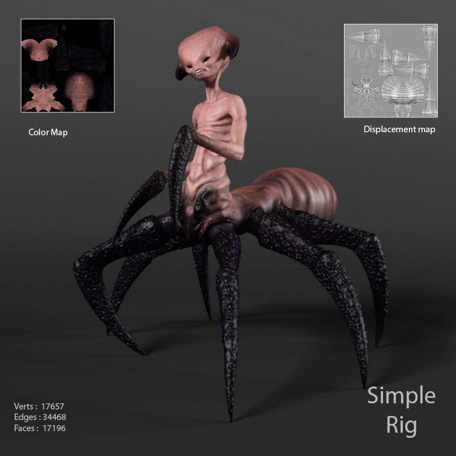 Arachnid monster - 3DOcean Item for Sale