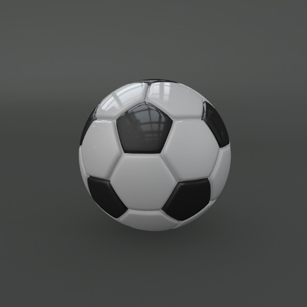 Classic soccer ball - 3DOcean Item for Sale