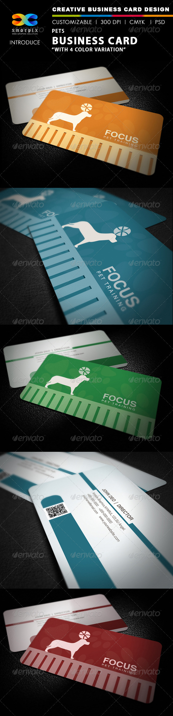 Pets Business Card - Corporate Business Cards
