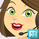 Illustration of a Woman in her Office - GraphicRiver Item for Sale