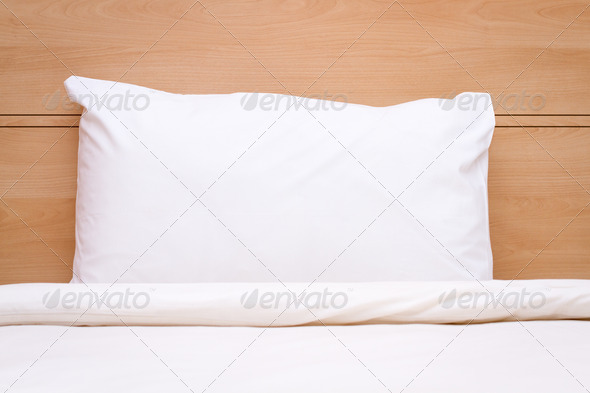 Blanket, Pillow & Bed - Stock Photo - Images