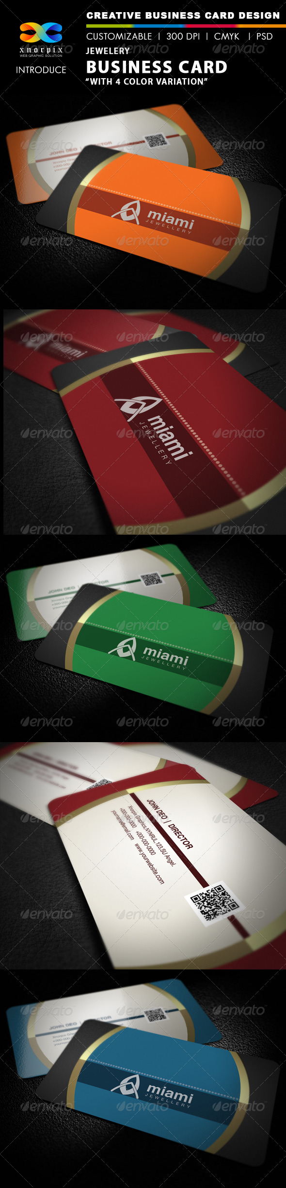 GraphicRiver Jewellery Business Card 2612099