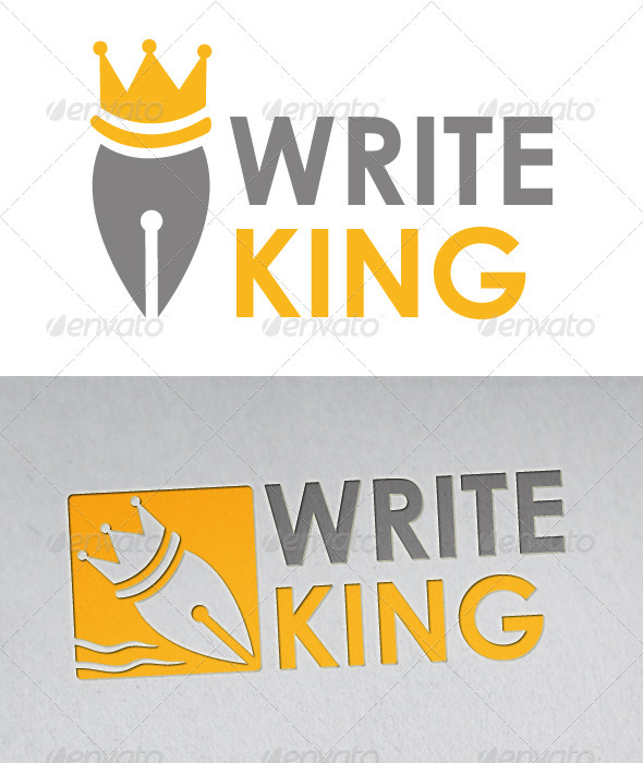 Writer King Logo