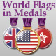 World Flags in Medals - GraphicRiver Item for Sale