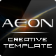 AEON Futuristic Template for Joomla! - ThemeForest Item for Sale